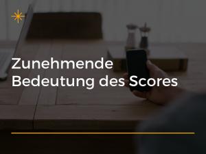 Allgemeiner Debitoren- und Inkassodienst GmbH Zunehmende Bedeutung des Scores
