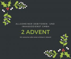 Allgemeiner Debitoren- und Inkassodienst GmbH 2 Advent