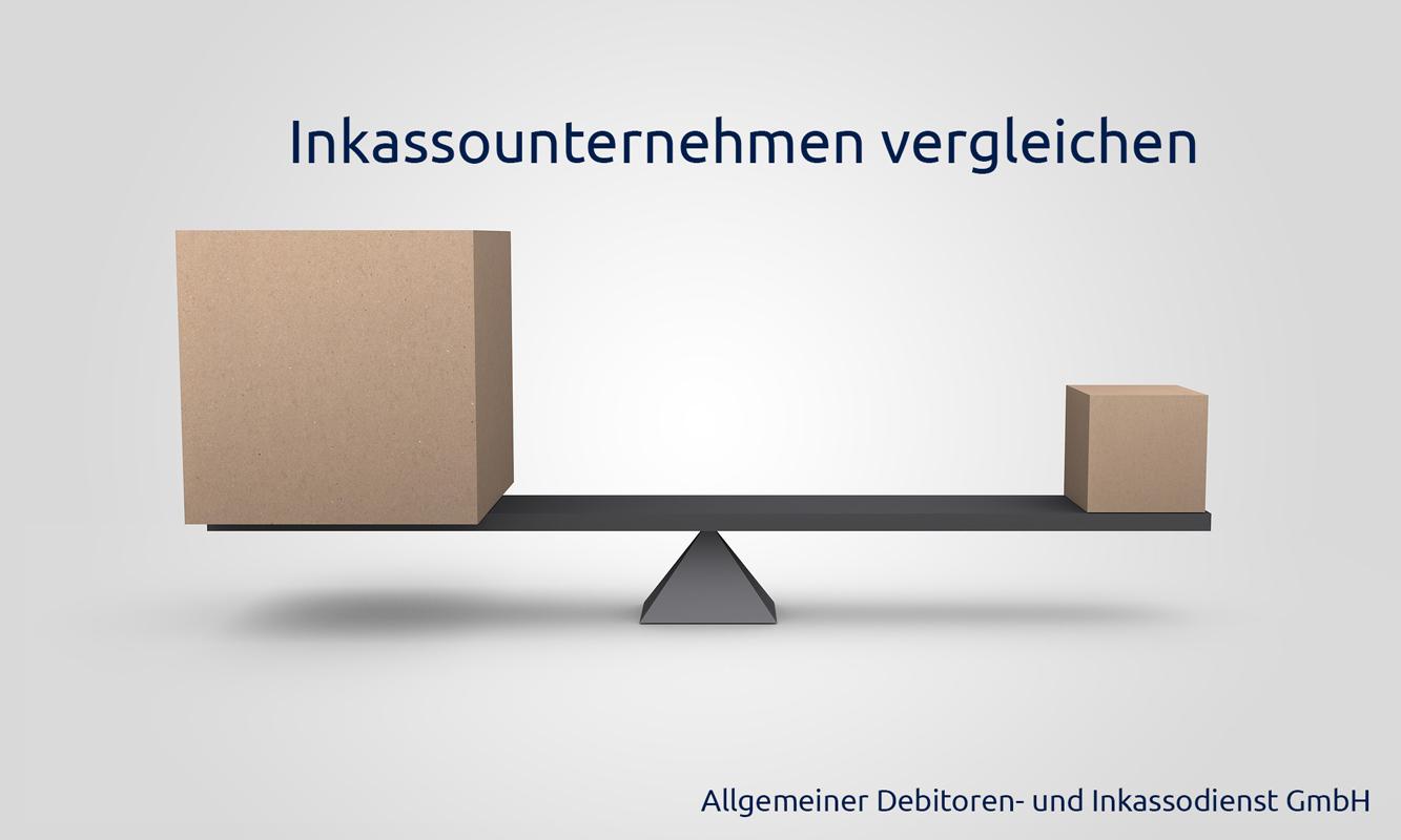 Allgemeiner Debitoren und Inkassodienst GmbH Inkassounternehmen vergleichen