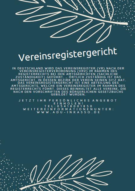 Vereinsregistergericht